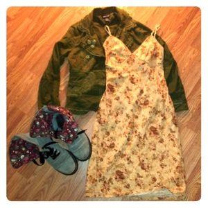 Vintage rue21 slip dress